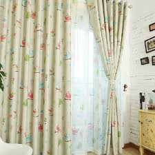Fabric For Nursery Curtains Bird Tree Light Yellow Nursery Curtains