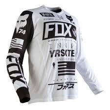 mens motocross jersey fox racing 2016 nomad jersey white available at motocross giant