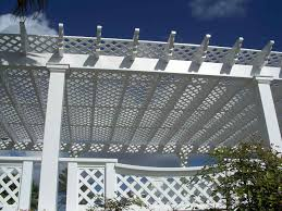 lattice fence under deck home u0026 gardens geek