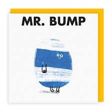 bump greeting card ohh deer