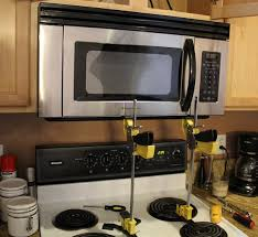 How To Install An Over The Range Microwave Jackcl