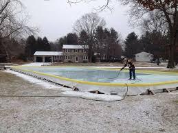 Making Backyard Ice Rink 25 Best Backyard Ice Rink Kit Images On Pinterest Backyard Ice