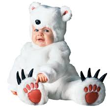 tom arma polar bear kids costumes