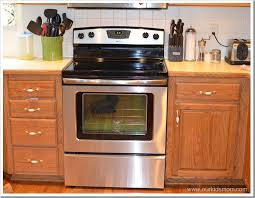 Clean Stainless Steel Cooktop Home Makeover Amana Self Cleaning Electric Range Review