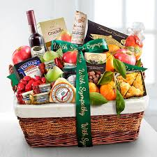 sympathy basket the sympathy gift baskets gift basket delivery with regard to