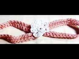 crochet headbands for babies crochet baby headband crochet baby headband with flower