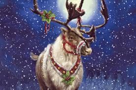 christmas reindeer christmas reindeer desktop nexus wallpapers santa s magical