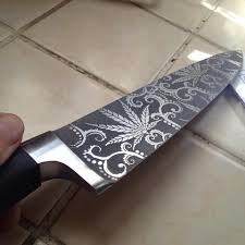 Knife Designs by Detailed Acid Etching With A Stencil 7 Steps With Pictures