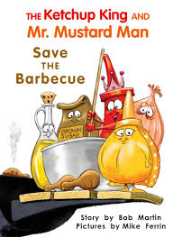 mr mustard the ketchup king and mr mustard save the barbecue level h