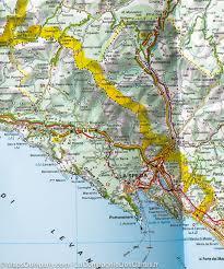 Map Italy by Map Of Northwestern Italy Michelin U2013 Mapscompany