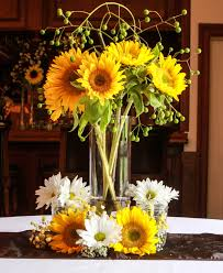 sunflower centerpiece sunflower centerpiece custom centerpieces and place