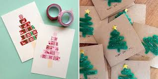 30 diy christmas cards how to make homemade holiday cards