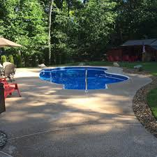 Backyard Pool And Basketball Court Ideal Pools Home Facebook