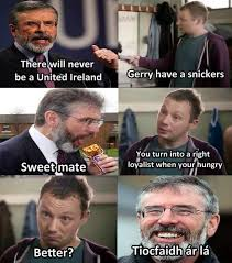 funny shit daily on twitter eat a snickers gerry adams http t
