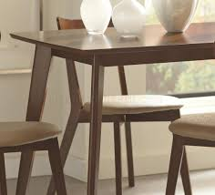 Coaster Dining Room Sets Kersey 5pc Dining Set In Chestnut Coaster W Options
