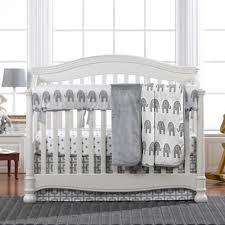 Elephant Crib Bedding Set Modern Gray Elephant Crib Bedding Set With Fitted Sheet Crib