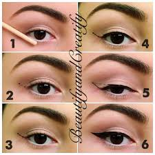 How To Color In Eyebrows How To Fill In Your Eyebrows With Eyeliner Pencil U2013 World