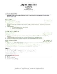 How To Build A Resume With No Experience High Student Resume Samples With No Work Experience How To