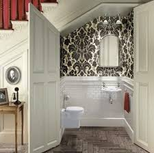bathroom with wallpaper ideas wallpaper ideas for bathroom fpudining