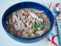 day after thanksgiving turkey carcass soup pressure cooker pinto bean and turkey drumstick soup dadcooksdinner