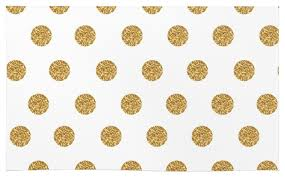 Gold Rugs Contemporary Society6 Gold Glitter Polka Dots Rug Contemporary Area Rugs