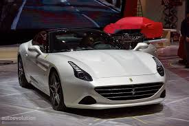 Ferrari California T Interior Ferrari California T Brings Its Turbos To Geneva Live Photos