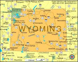 Wyoming travel symbols images Map of wyoming became a state on july 10 1890 it was the 44th jpg