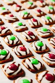 pretzel m u0026m hugs christmas style cooking classy