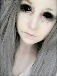 black sclera contact lenses on extremesfx com our halloween