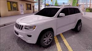jeep grand cherokee 2017 jeep grand cherokee 2017 for gta san andreas