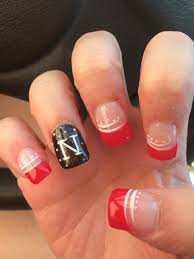 nebraska husker nails creative pinterest football nails