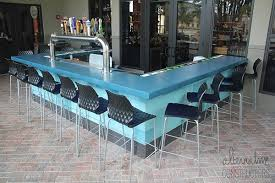 how to clean concrete table top clean outdoor bar smooth concrete countertop