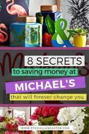 8 secrets to saving money at michael u0027s craft store frugal lancaster