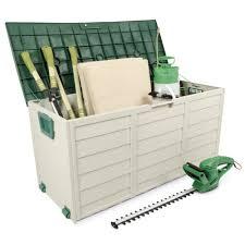 Plastic Storage Cabinet Garden Tools Plastic Outdoor Storage Cabinets Chest Waterproof