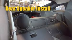 nissan 350z lower engine cover nissan 350z rear speaker install youtube