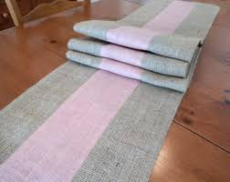 Blush Pink Table Runner Easter Table Runner Etsy