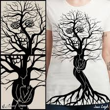 Tree Of Life by Score Tree Of Life And Death By Jessileigh On Threadless