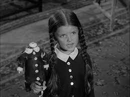 Morticia Addams Halloween Costume Lisa Loring Wednesday Addams Reminds Sonny Roo Kids