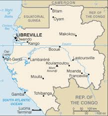 gabon in world map the world factbook central intelligence agency