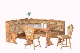bruck oak breakfast nook set