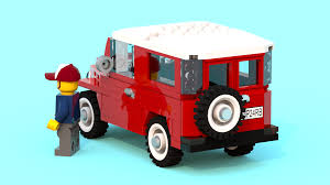 land cruiser fj40 lego ideas toyota land cruiser fj40 camping trip