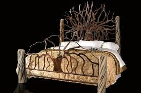 hand made custom king size metal bed by jf metal designs