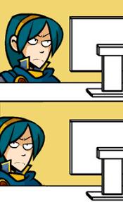 Computer Reaction Meme - anime computer reaction face clearview windows