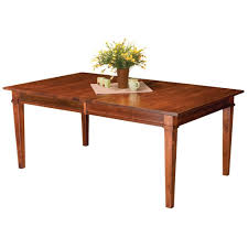 Dining Room Tables With Extensions Amish Tables Handcrafted Solid Wood Furniture