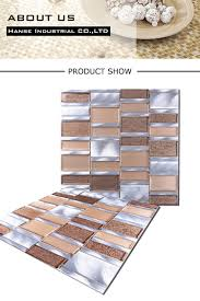 lx18 new product rose gold and white aluminum backsplash kitchen