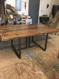 Football Conference Table Dining Table Reclaimed Wood Conference Room Office With Regard To
