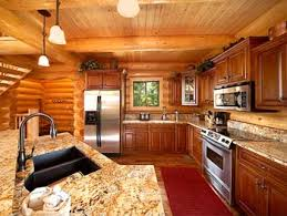modular home interiors pinecone decorating log cabin homes interior kitchen log cabin