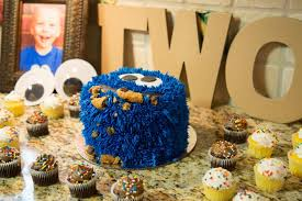 nashville sweets buttercream cookie monster birthday cake