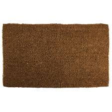 Coir Doormat Wipe Your Paws Entryways Blank 18 In X 30 In Extra Thick Hand Woven Coir Door