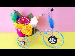 Craft Project Ideas For Kids - diy project ideas how to make decorative tricycle kids craft